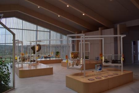 Salle d'exposition de la maison des insectes; Sandy Duperier