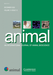 Publication d'un article de l'équipe DOVE dans Animal