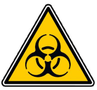 Logo risque biologique