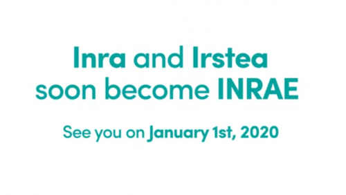 On Jan 1, 2020, INRA and IRSTEA will merge to become INRAE.