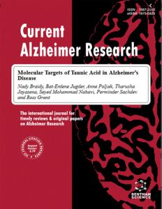 Curr Alzheimer Res