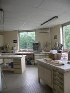 Laboratoire de minéralogie de l'UR Sols © INRA