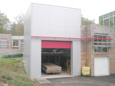 Halle du simulateur