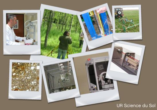 Présentation des équipements de l'UR Sols © INRA